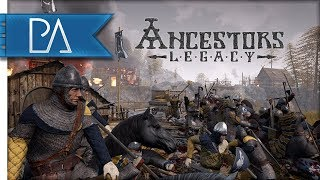 NEW VIKING RTS: VIKINGS VS ANGLO-SAXONS - Ancestors Legacy Skirmish Gameplay