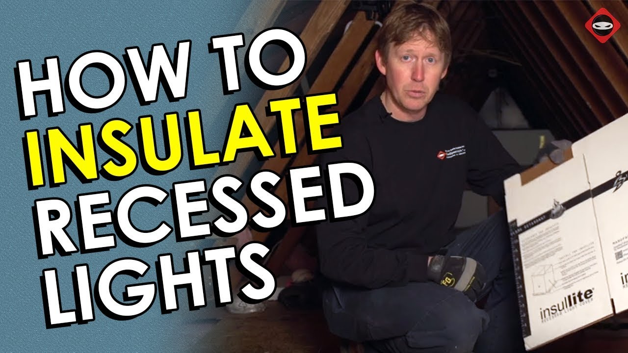 How To Insulate Recessed Lights Seal And Can Light Covers Diy