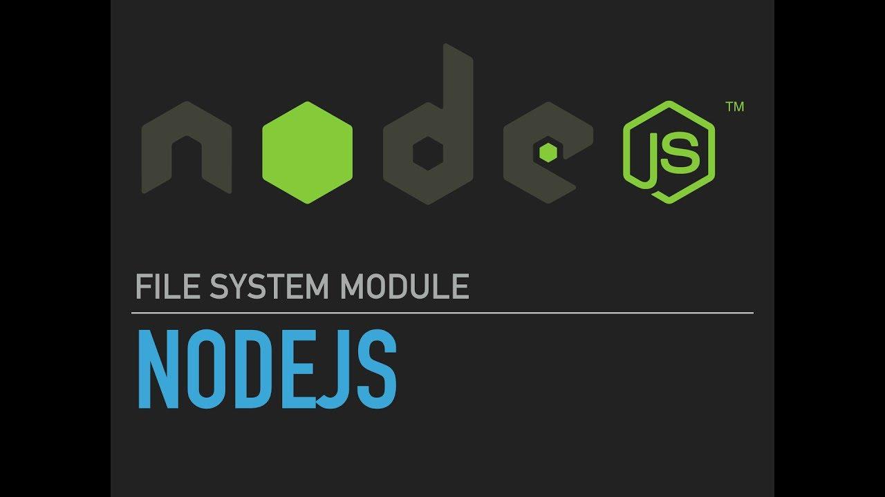 NodeJS FileSystem: Write Raw Data To File Using fs write() & fs writeSync()