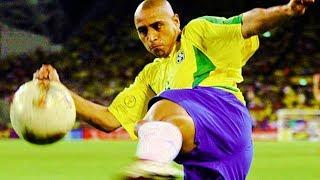 ロベルト・カルロス(ブラジル代表) 観ないと後悔するスーパーゴールトッ...