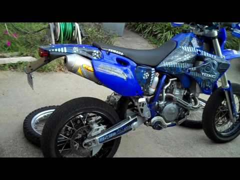 WR426 Supermoto - Street Legal - TOXIC skins - 230 pounds and 52hp