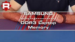 Samsung DDR3 Laptop Memory overview
