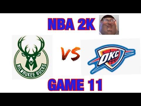 NBA 2K Playgrounds 2 - 27 Team Ladder Game 11: Bucks vs. Thunder |