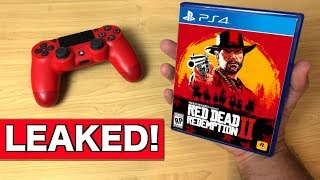 Red Dead Redemption 2 LEAKED on PS4!