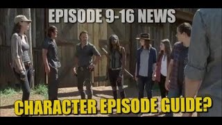 The Walking Dead Season 7 Second Half Spoilers Potential Character Episode Guide Episodes 9-16