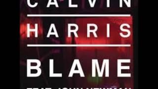 Calvin Harris Ft. John Newman -  Blame ( Angel Santos Deep Mix )