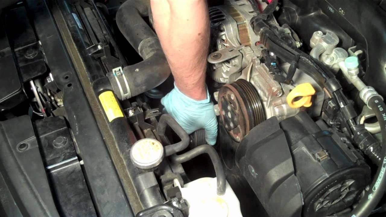 grimmspeed subaru lightweight crank pulley install video