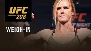 UFC 208: Official Weigh-in
