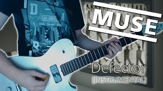 Muse Defector Instrumental - Guitar Cover w/Manson DL-1