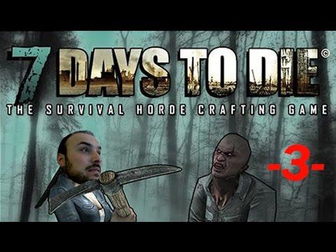 7 days to die Türkçe anlatım - 3.Gün Çay demledik demir erittik