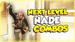 CS:GO - Next Level Nade Combos (Smoke + Molotov + Flash)