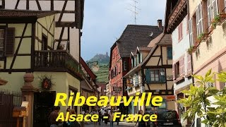 Ribeauville - Alsace - Elsaß  - France 2016