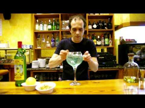 Gin&tonic menorquí en Can Jaumot con gin Xoriguer