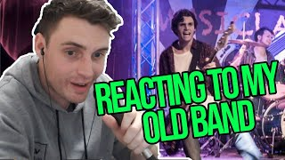 Reacting to my High School Band