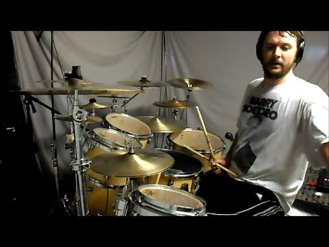 MESHUGGAH - Electric Red - drum cover
