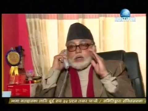 PM Koirala with Prachand Telephone Conversation Leaked