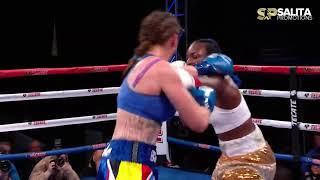 CLARESSA SHIELDS VS FEMKE HERMANS FULL FIGHT