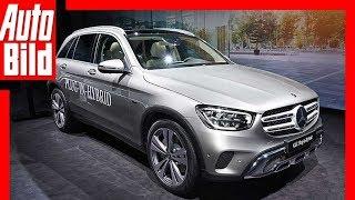Mercedes GLC (2019) Genfer Autosalon - Test, erste Infos, Sitzprobe, Details