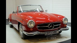 Mercedes-Benz 190SL Cabriolet 1962  -VIDEO- www.ERclassics.com