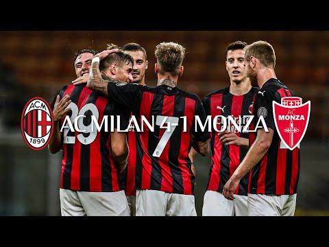 Highlights | AC Milan 4-1 Monza | Pre-season friendly 2020/21