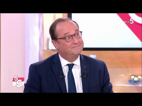 Le 5 sur 5 avec François Hollande ! - C à Vous - 19/11/2018