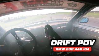 Drift Pov #2 - BMW E30 344 BiTurbo 440Hp / DZiK OnBoard