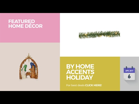 By Home Accents Holiday Featured Home Décor