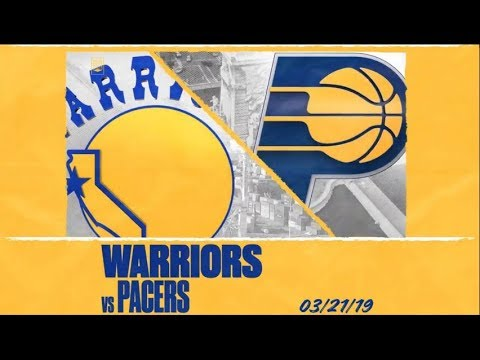 Golden State Warriors Intros | vs Pacers | Mar. 21. 2019 ...