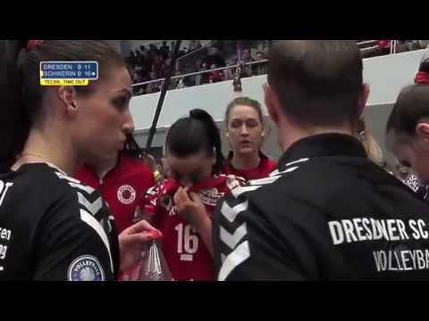 Dresdner SC vs SSC Palmberg Schwerin Semifinal Playoff 1 03042018