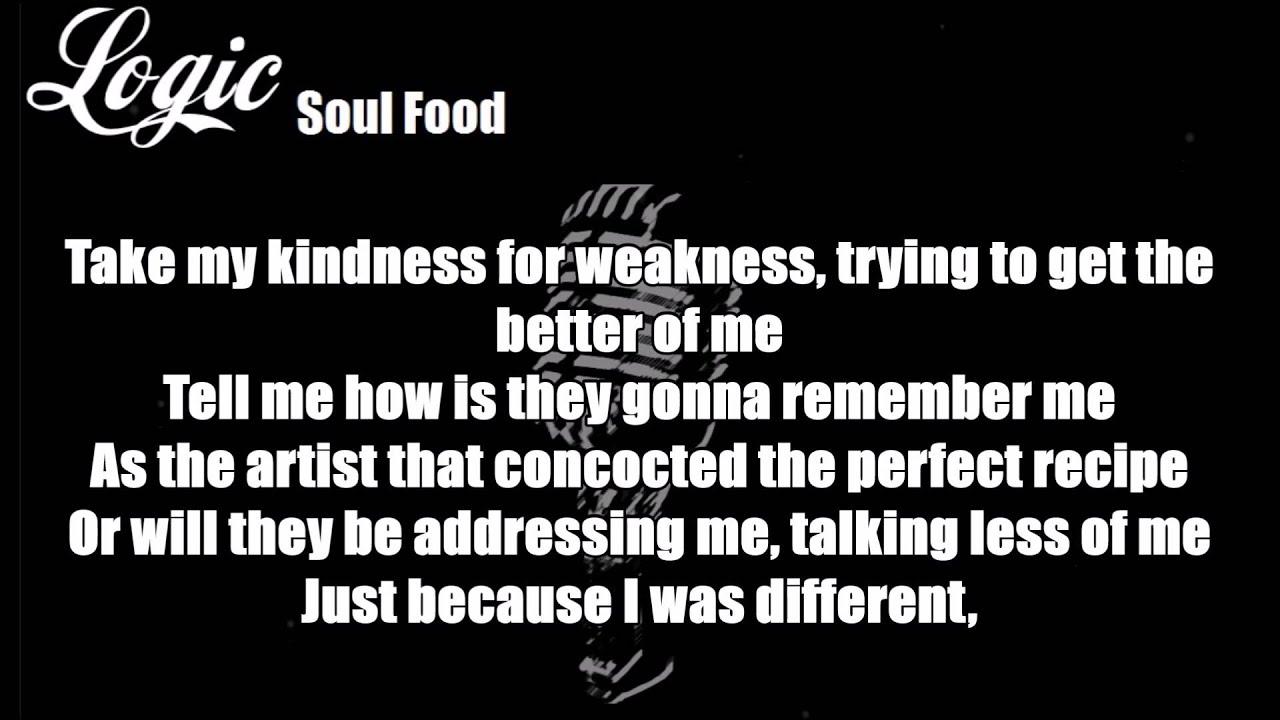 Logic - Soul Food Lyrics
