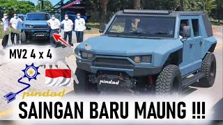 SAINGAN BARU MAUNG !! PINDAD CIPTAKAN RANTIS TEMPUR BARU MV2 4x4 PINDAD INDONESIA