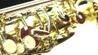 LJ Hutchen Eb Alto Saxophone with Plush-Lined Case thumbnail