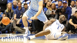 Faulty Nike trainer injures Zion Williamson 33 seconds into college basketball game