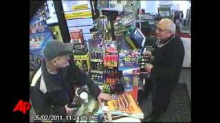 Raw Video: Man Politely Robs Wash. Store