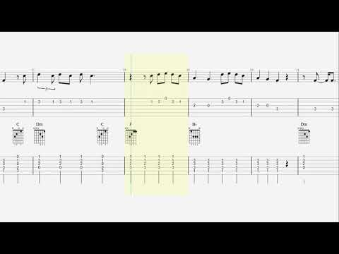 Guitar Tab – Notes – Chords – Happier – Marshmello – Bastille