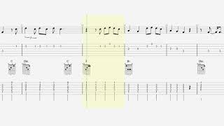 Guitar Tab - Notes - Chords - Happier - Marshmello - Bastille