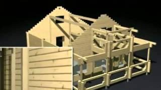 технология строительства дома из бруса(, 2013-08-20T12:17:47.000Z)