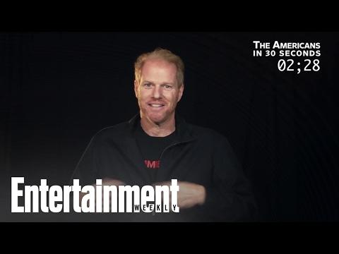 Noah Emmerich recaps 'The Americans' in 30 seconds