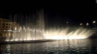 Dubai Fountains Burj Khalifa -