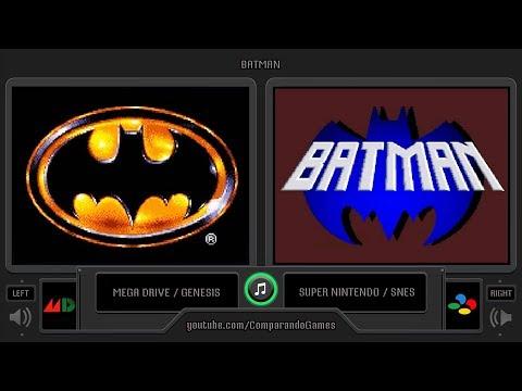 Batman (Sega Genesis vs SNES) Side by Side Comparison thumbnail