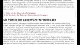 Balkenmäher für Hanglagen (www.balkenmaeher.org)