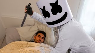YOU WILL NOT BELIEVE WHAT MARSHMELLO RECORDED WHILE SLEEPING *Fortnite in real life*