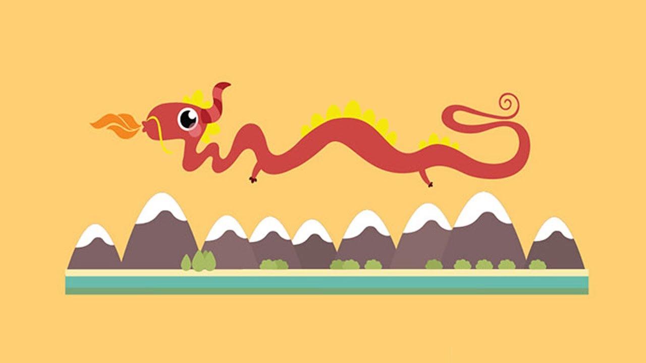 Beginner Chinese Words: Dragon - Chinese Zodiac