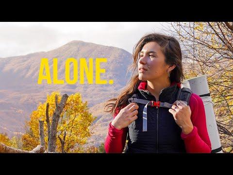 Trekking 2 Days Alone in ALBANIA
