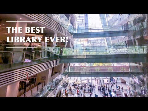 A SEMI-RAW CHINA VLOG - THE BEST LIBRARY EVER IN GUANGZHOU!!