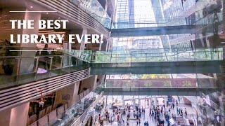 BEST LIBRARY EVER IN GUANGZHOU!! CHINA VLOG