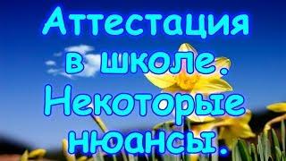 Семья Бровченко. Аттестация при семейном образовании. Некоторые нюансы.