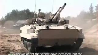 Voennoe Delo - BMP 3 Of Russian Army (English Subs)