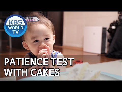 William and Bentley having a patience test with cakes [The Return of Superman/2019.06.30]