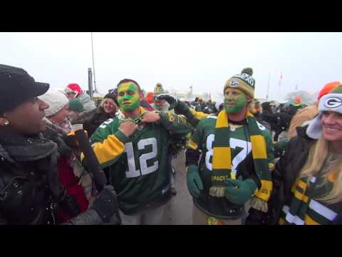Fan Cam - Packers vs. Texans at Lambeau Field